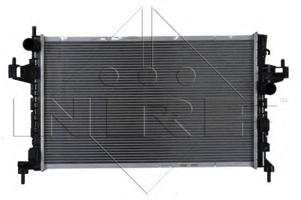 Opel radiator engine cooling for