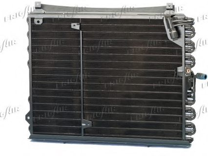 MERCEDES-BENZ 1248301370 Condenser, air conditioning