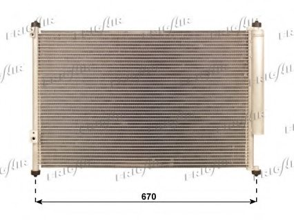 GENERAL MOTORS 9531064J00 Condenser, air conditioning