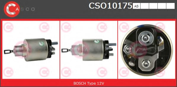 IVECO 1310012 Solenoid Switch, starter
