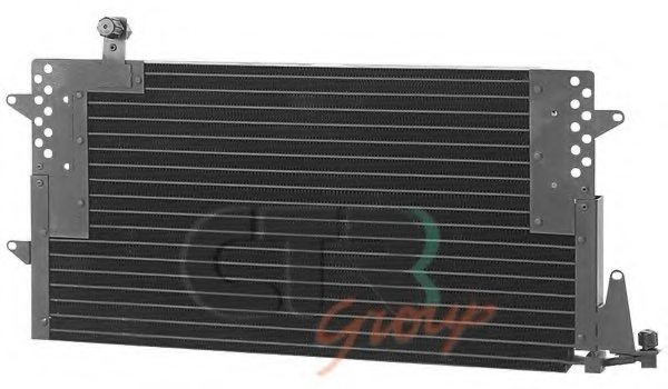 VW 3A0820413A Condenser, air conditioning