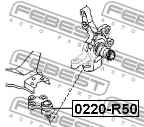 NISSAN D0160-0W025 Ball Joint