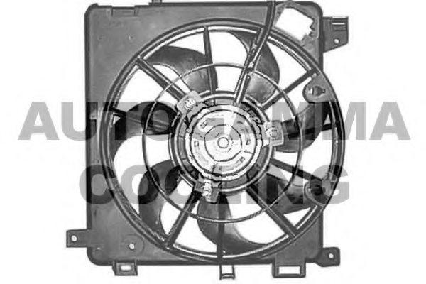 Ga autogamma fan radiator for opel