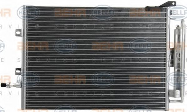 RENAULT 82 00 443 897 Condenser, air conditioning