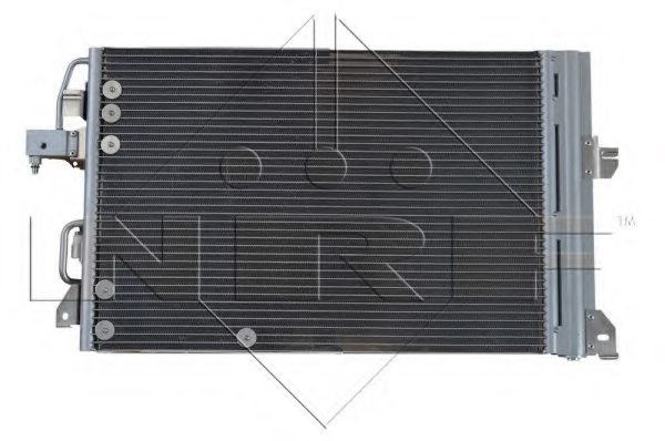 OPEL 1850112 Condenser, air conditioning