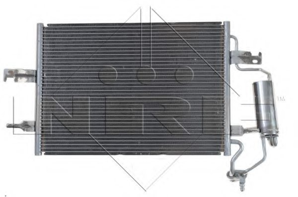 VAUXHALL 1850086 Condenser, air conditioning