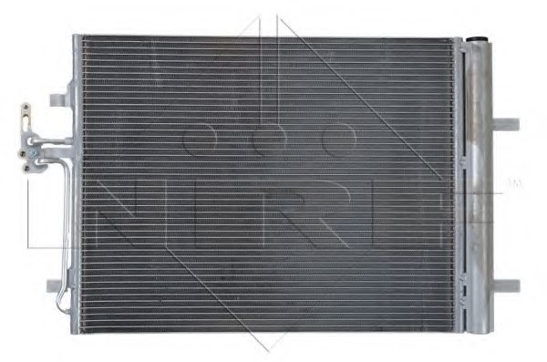 FORD 1710241 Condenser, air conditioning