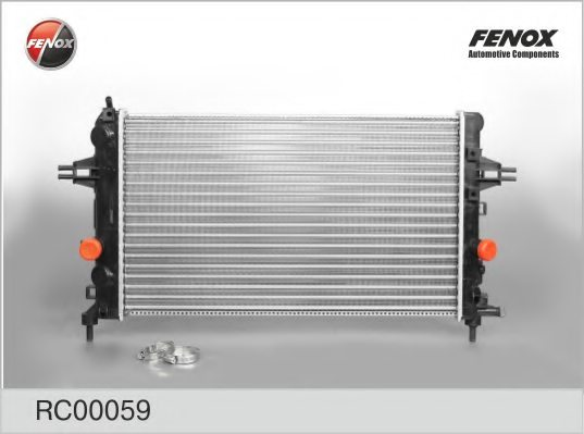 Vauxhall radiator engine cooling for opel