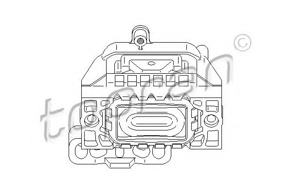 AUDI 1K0 199 262AT Engine Mounting