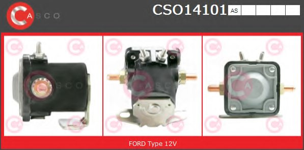 FORD C7AF11450A Solenoid Switch, starter