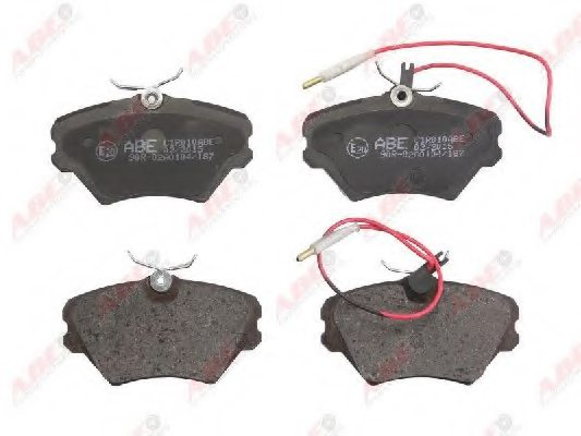 RENAULT 77 01 204 670 Brake Pad Set, disc brake