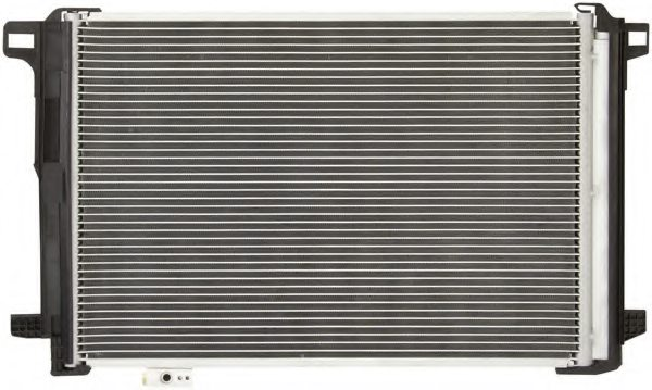 MERCEDES-BENZ 2045000254 Condenser, air conditioning