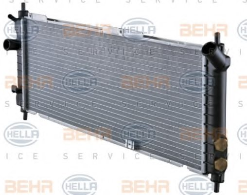 Opel  radiator engine cooling for holden