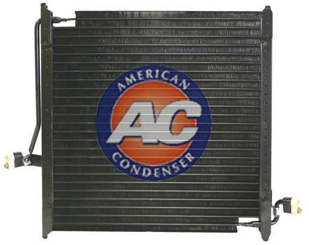 FORD F87219712BA Condenser, air conditioning