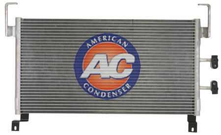 CHRYSLER 5014582AA Condenser, air conditioning