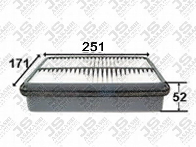 TOYOTA 17801-35020 Air Filter