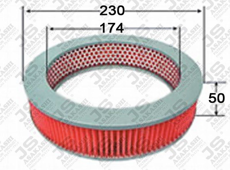 ISUZU 9-14215604-0 Air Filter