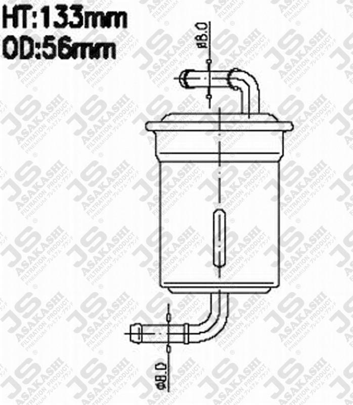 fs9052 js fs9052 fuel injector