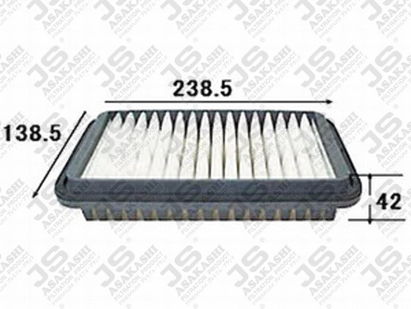 SUZUKI 13780-75F00 Air Filter