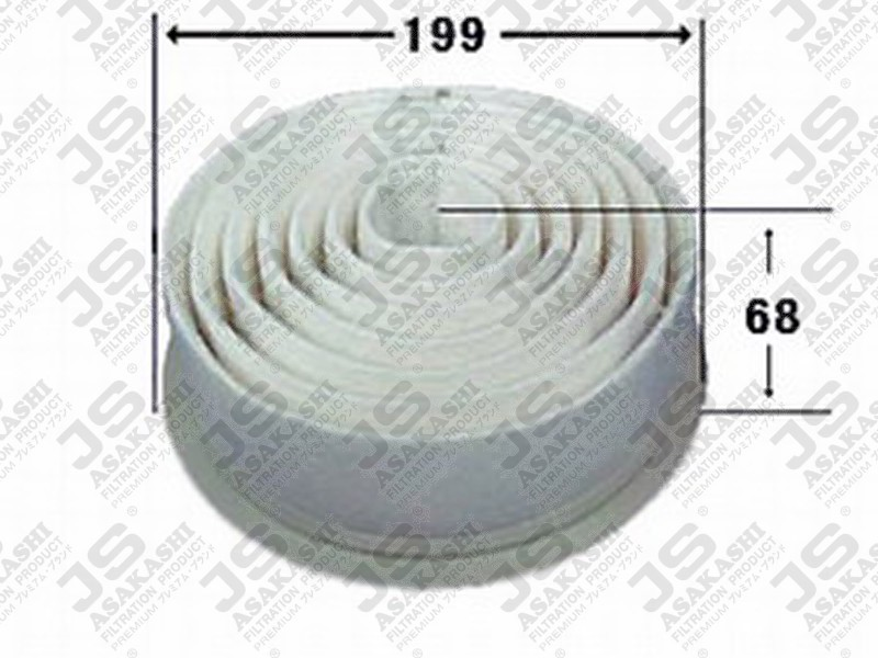 TOYOTA 17801-16010 Air Filter