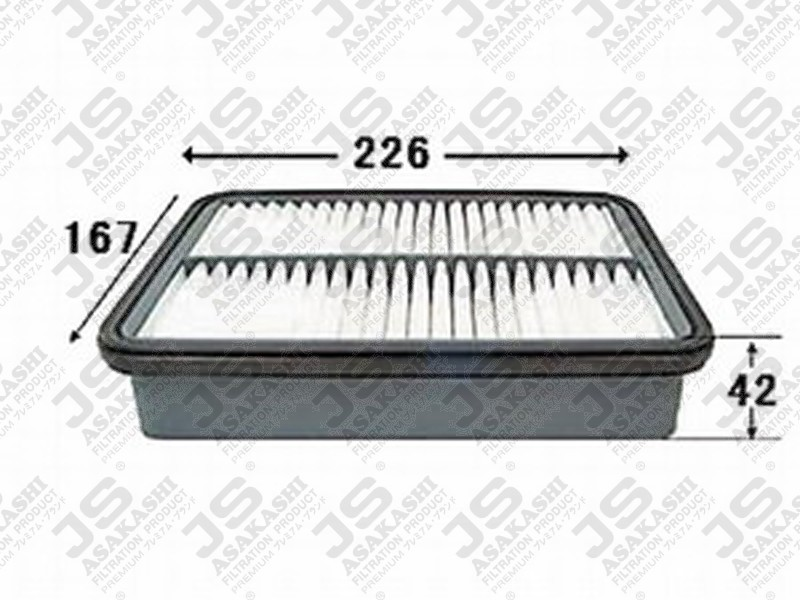TOYOTA 17801-11090 Air Filter
