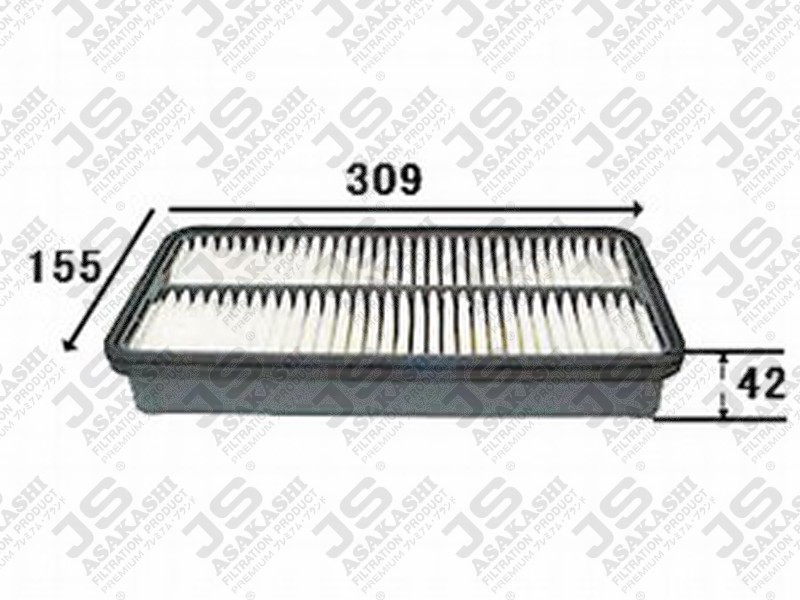 TOYOTA 17801-64010 Air Filter