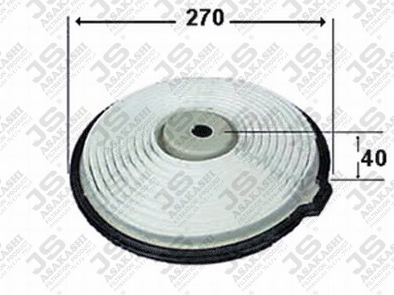 DAIHATSU 17801-87717 Air Filter