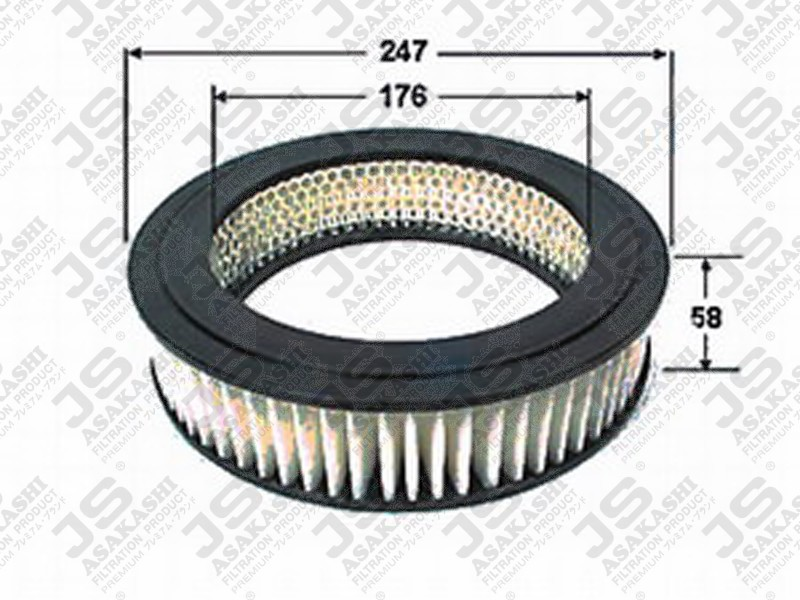 1780131080 ELEMENT SUB-ASSY, AIR CLEANER FILTER