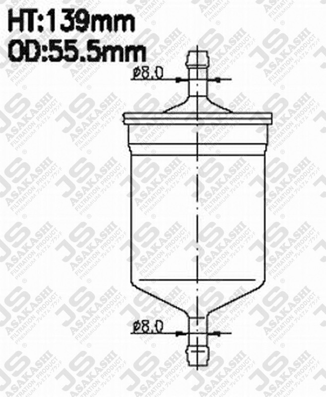 ff5079 fleetguard ff5079 fuel filter for fleetguard