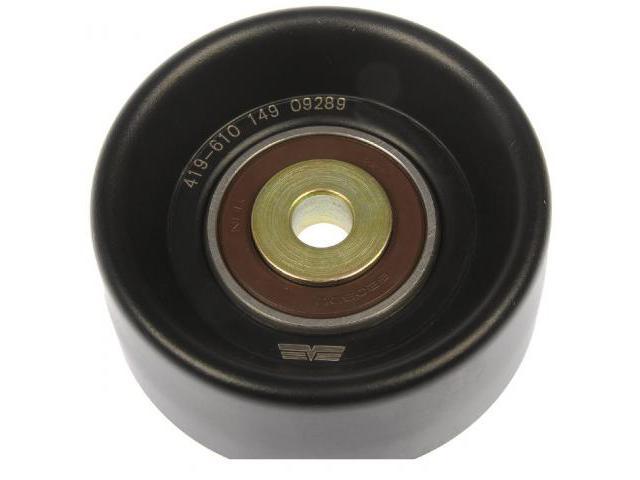 Smooth Drive Belt Idler Pulley Fits OEM# AL3Z8678A Ford 1990-2019 GM 1991-2011