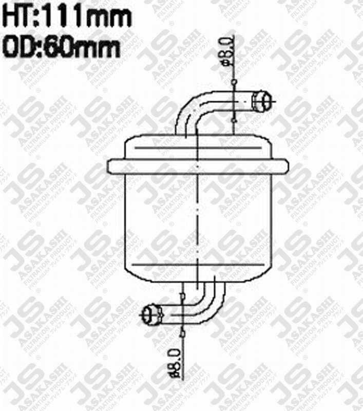 1543050g00 suzuki 1543050g00 fuel filter for suzuki