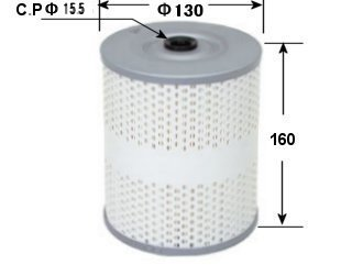 ME164857 ASAKASHI OIL FILTER 6D22 8DC9 2PC SET